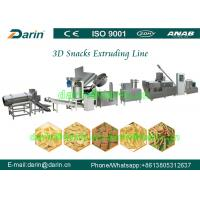 China Automatic Panipuri / Golgappa Fryum 3d Snack Extruder Machine processing line on sale