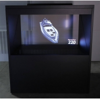 """Buy cheap 22"""" 1920x1080 Pyramid Showcase 3D Holographic Display product"""
