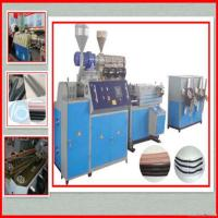Buy cheap Pp/pe Single Wall Corrugated Pipe Machine product