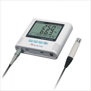 Sound Light Alarm Import  External Sensor High accuracy  Refeigerator  use Temperature Humidity Data Logger