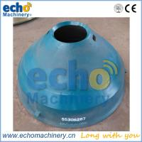 China cone crusher spare parts Metso GP200S concave and mantle for crushing dolimite on sale