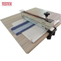 Buy cheap Square Shape Specimen Swatch Cutter with Scale Cutting Mat for Speedy Measurement product