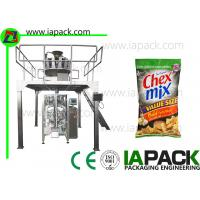 China Automatic Food Packing Machine Snacks Packaging Machine For Pillow Bag Gusset Bag on sale