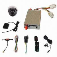 China Car GPS Tracker with Camera, LED Screen, Wireless Remote Controller and Google Map with Software on sale