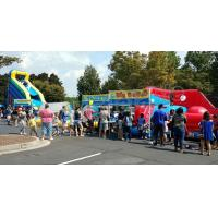Buy cheap Fire Retardant Excited Inflatable Pool Slide / Outdoor Sports Games from wholesalers