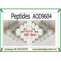Buy cheap Injectable Peptides Fragment AOD9604 Powder For Fat Loss CAS: 221231-10-3 product