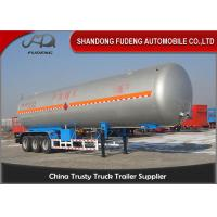 Buy cheap 30 Tons LNG / LPG Tank Trailer For Flammable Liquid Transport  Fuwa / BPW Axle product