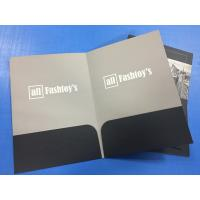 Buy cheap OEM Personalized Pocket Folders A4 Size Embossing Saddle Stitching Custom Color product