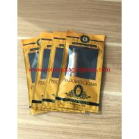 Buy cheap European And American Cigar Moisturizing Plastic Zipper Bags With Humidified System product