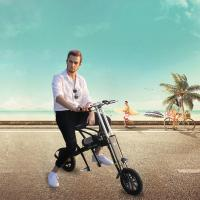 Buy cheap Removable Battery Electric City Bike 12 Inches Wheels 6061 Aluminum Alloy Body product