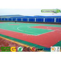 Buy cheap Outdoor or Indoor Basketball Silicon PU Court Sports Flooring Stable Surfacing Materials product