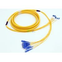Buy cheap IEC Grade B Level 8F Multimode Fiber Patch Cable product