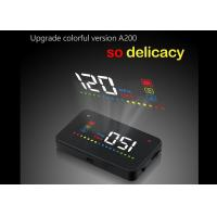 Buy cheap Multi - Function Windshield Heads Up Display A200 HUD OBD2 Interface For Vehicle product