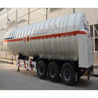 China supplier 40000 Ltrs LPG Gas  Semi Trailer Tanker LNG Tank semi trailer