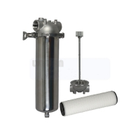 Buy cheap Water Pre Treatment 2mm 30 40 Inch SS316L RO Filter Housing product