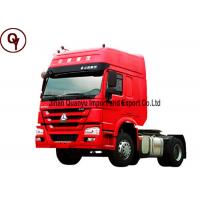 China OEM 4x2 336HP Tractor Head Truck with 92 km/h Maximum Driving Speed on sale