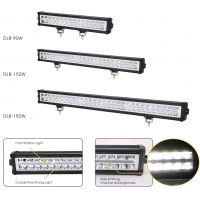 Buy cheap 150W IP67 Offroad LED Work Lamp , 12000Lm LED Driving Light Bar product