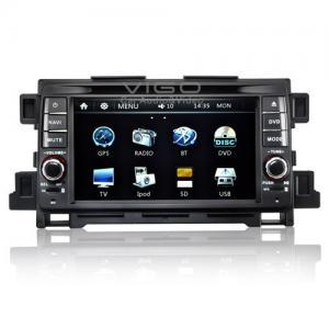 Buy cheap 7'' Sliding 3D Screen CX-5 Mazda Sat Nav DVD / Auto Radio DVD Player Stereo VMZ7562 product