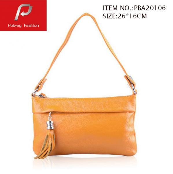 Quality PU handbag, lady handbag, fashion handbag, handbag with crossbody strap for sale