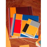Buy cheap spiral notebook with colored paper product