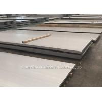 China 4MM Hairline 201 Hot Rolled Stainless Steel Sheet For Construction Engineering wholesale