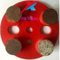 Buy cheap 100mm 5 holes diamond metal pads for polishing marble,granite and concrete and from wholesalers