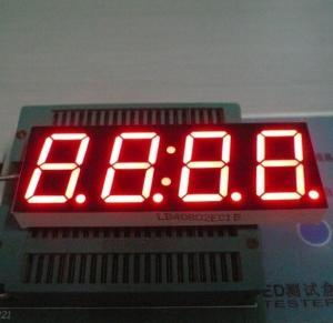Buy cheap High Luminous 4 Digit Seven Segment Display Common Cathode 0.80 Inch product