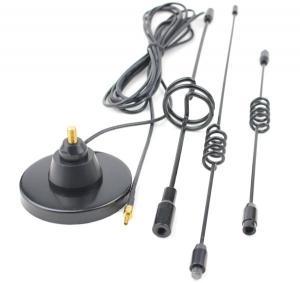 Buy cheap Antena baja magnética multi del G/M 2.4G 3G 4G 14DB del conector de la banda TS9 del alambre de 3M RG174 de la promoción product