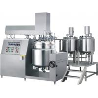 Buy cheap Hydraulic Lifting Vacuum Emulsifying Machine For Mixing Oil And Water product