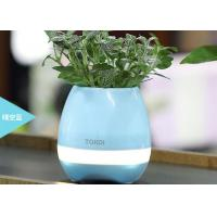China Bluetooth Speaker Intelligent Smart Touch Music LED Flower Pots Plant Piano Playing K3 Wireless Singing wholesale