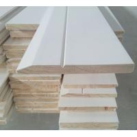 Buy cheap 16' White primed skirting, pine base, base moulding, beams ground sill, decorative base from wholesalers