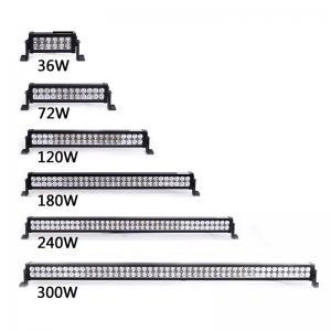 Buy cheap 道のライト バーを離れたジープ4x4のためのクリー族36W-300W LEDのライト バー product