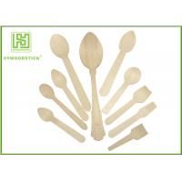 China Promotional Amazon  Eco Friendly Cutlery Wooden Dinner Ice Cream Spoons In Different Shapes wholesale