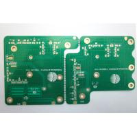 Buy cheap Double Two Sided PCB Board Surface Finishing Gold Plating With Finished Copper 1 OZ White Silkscreen UL ISO9001 Approved from wholesalers