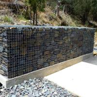 Buy cheap Gabion Baskets|8x10 Double Twisted Hexagonal Steel Mesh Customized Size product