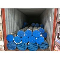 Buy cheap Square Round Steel Galvanised Pipe , Hot Dipped Galvanized Pipe 250-300g / ㎡ Zinc Coating product