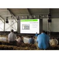 Thin P2.9 HD Outdoor Led Video Display Back Stage For Rental Show