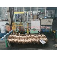 China High Speed Steel Wire Coil Packing Machine / Powerful Ring Wrapping Machine on sale