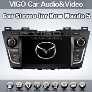 Buy cheap New Mazda 5 In Car Stereo Sat Nav DVD  Auto Radio GPS Navigation VMZ1117 product