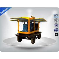 Buy cheap Water - Cooling Silent Genset Trailer 4 Cylinder Prime Power 50Kw / 63Kva product
