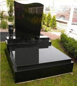 China China absolute black shanxi black granite monument on sale on sale