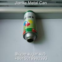 China Aerosol tin cans Diam.57 height 150mm for mould rust inhibitor on sale