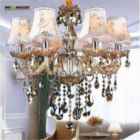 Buy cheap Modern Chandelier Lighting K9 lustres de cristal moderne lustre for home lighting Bedroom Kitchen Dining Crystal product