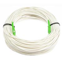 Buy cheap G657B3 Anti - Bending Fiber Optical Cable Single Mode White Color With LSZH Material product