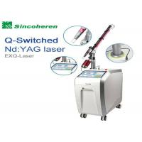 Buy cheap FDA Approved Q Switched Nd Yag Laser Machine For Pigmentation Removal product