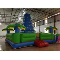 Buy cheap Durable Inflatable Rock Climbing Wall Trees Digital Printing 7 X 7m Safe Nontoxic product