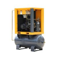 Buy cheap 7.5HP Belt drive Oil-injected screw air compressor with 300 liter Receiver 7-10bar product