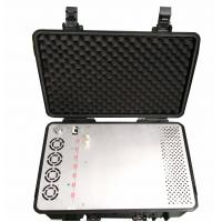 Buy cheap 5.8G 4G RCIED backpack Drone Signal Jammer For military with big battery from wholesalers