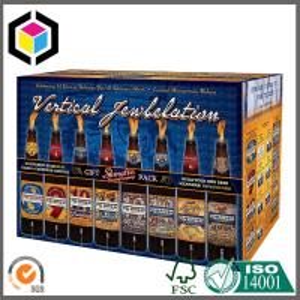 Buy cheap Boîte imprimée polychrome mate d'emballage de bière de CMYK ; 24 boîtes ondulées à vin de bouteille product