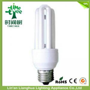 China 7W U Shaped Fluorescent Light Bulbs , CFL Compact Fluorescent Light Lamps on sale